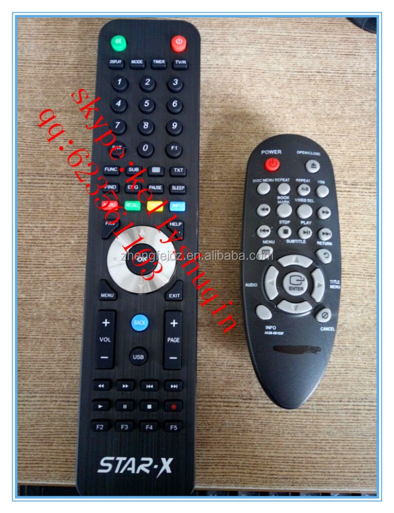 remote control for STAR-X SAMSUNG AA59-000103F