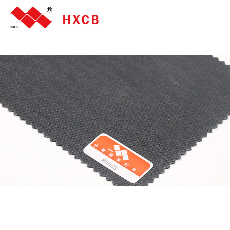 Polyester woven fusible interlining for materials garments