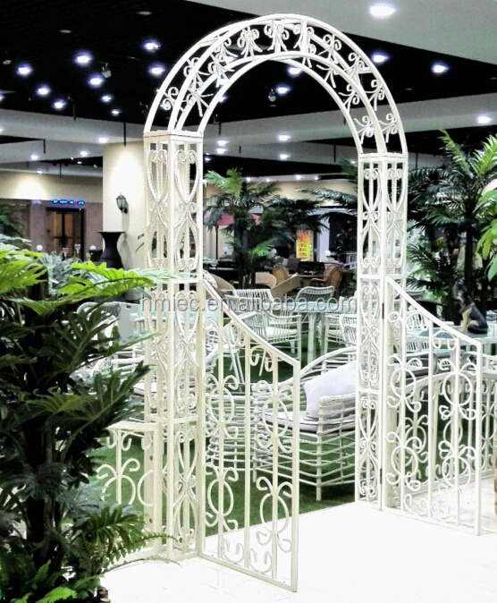 Pergolas de hierro para jardin techos cubiertas pergolas for Arcos para jardin