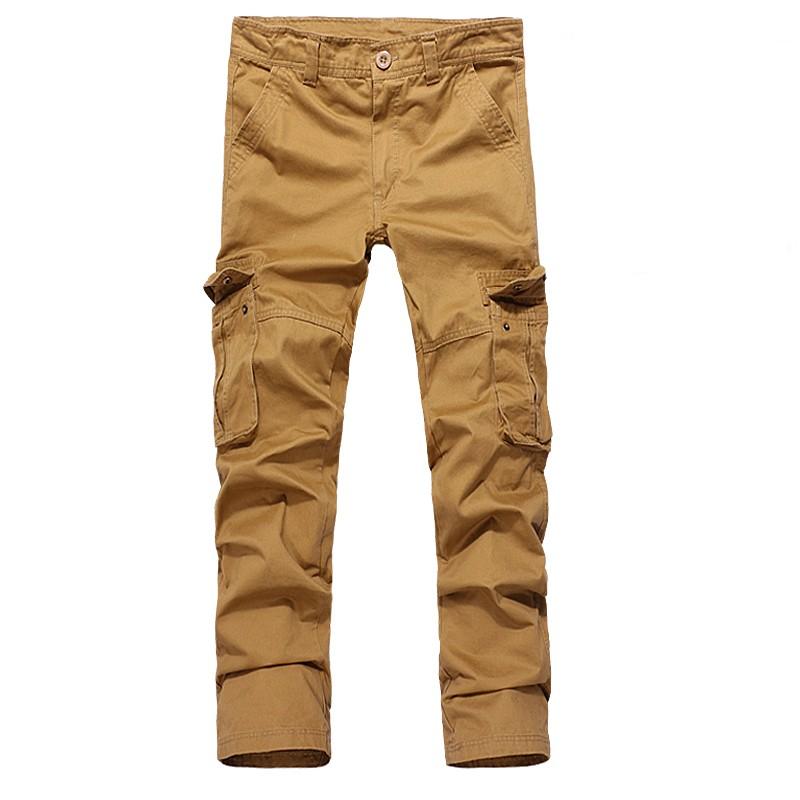 Cheap Khaki Cargo Pants For Men | Pant So