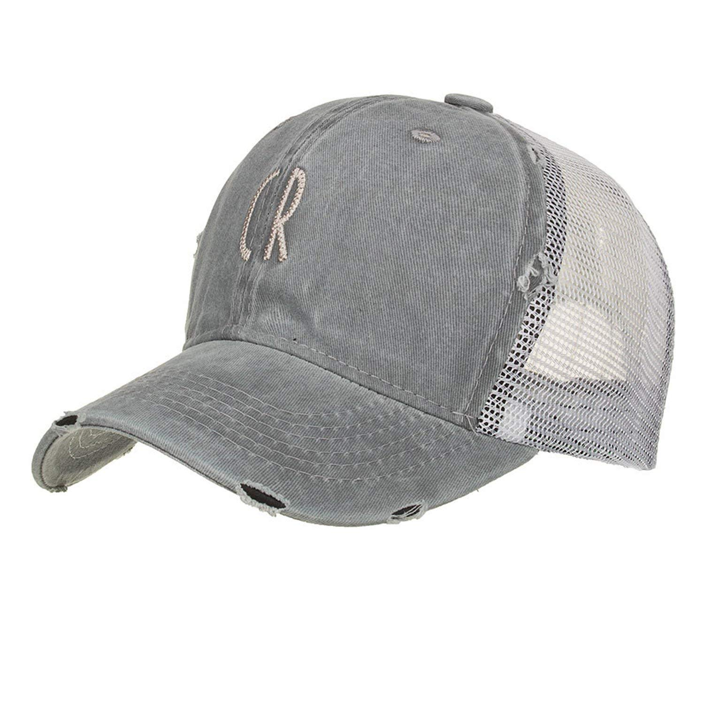 Get Quotations · Summer Baseball Caps Quick Dry Sun Hat Womens Mens Sports  Mesh Adjustable Trucker Baseball Hat Running 45a368aff09b