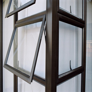Awning glazing window swing in aluminum windows
