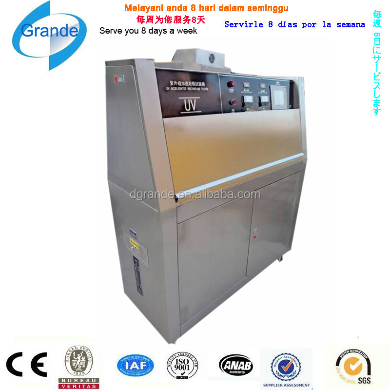 Laboratory Equipment UV Accelerated Weathering Instrument Environmental Aging Chamber