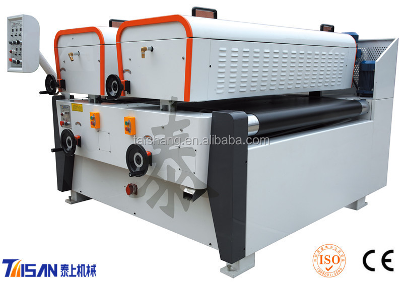 cabinet board uv coating machine/UV roller coater used for furniture/uv lacquer machine