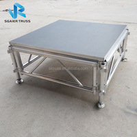 Aluminum truss stage, mobile stage platform with CE TUV SGS for band/concerts/events/music