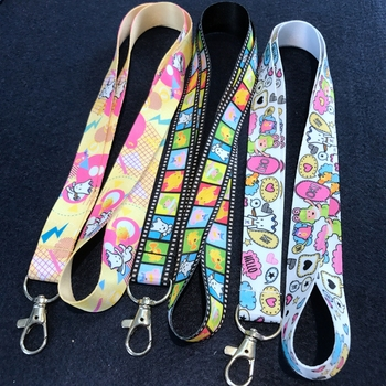 safety work vograce colouful neck lanyard