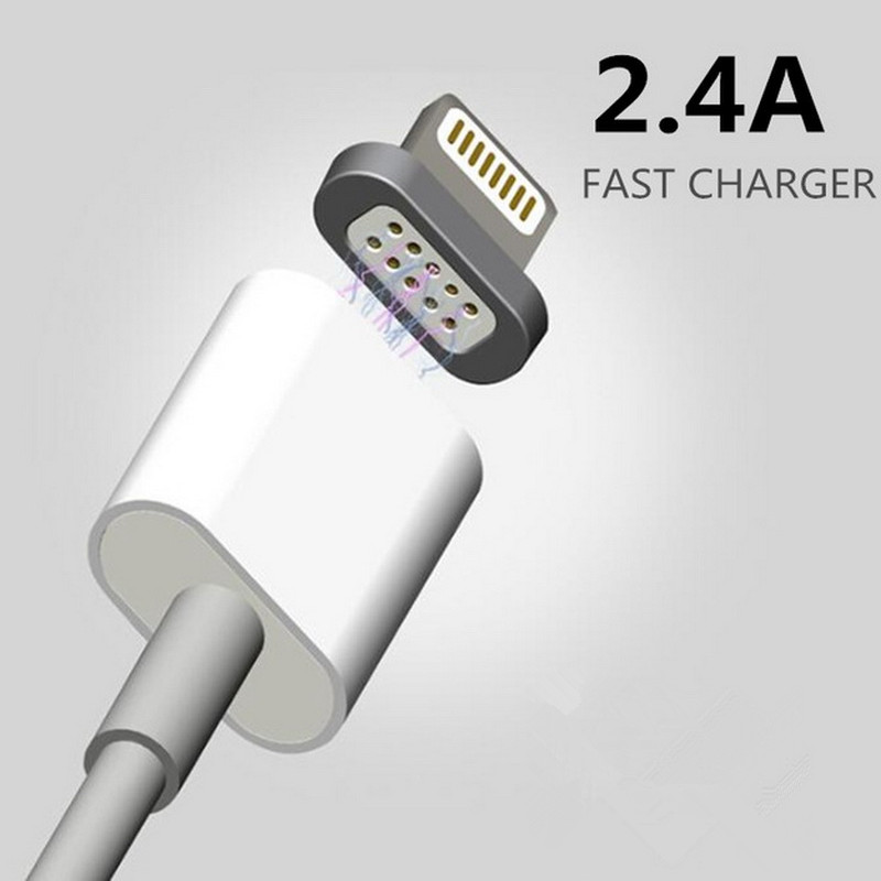 2.4A Magnetic Charge Micro Usb Data Cable Charging Cable Android Charger Cord for iPhone 7 6 s 5 5s 6s Plus