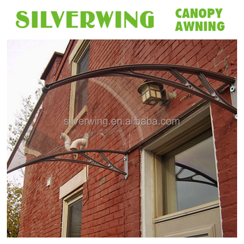 Diy Front Door Patio Rain Cover For Solid Polycarbonate Awnings