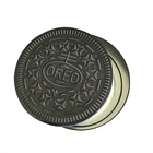 Promotional wholesale round tin can for cookies / candy tin box