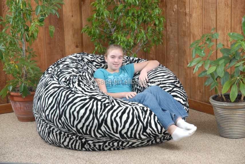 Admirable 4 Ft Twill Fuf Foam Bean Bag Sofa Zebra Buy Sleeping Bag Sofa Bean Bag Sectional Sofa Lazy Bag Sofa Product On Alibaba Com Dailytribune Chair Design For Home Dailytribuneorg