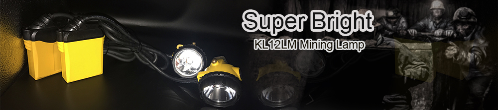 Super bright miners helmets with led lights KL12LM
