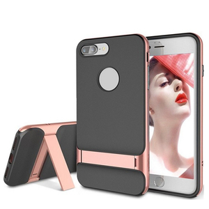 JESOY For Apple iPhone 6 7 8 Plus With Stand Hard Back Cover Rock Luxury TPU Plastic Cases