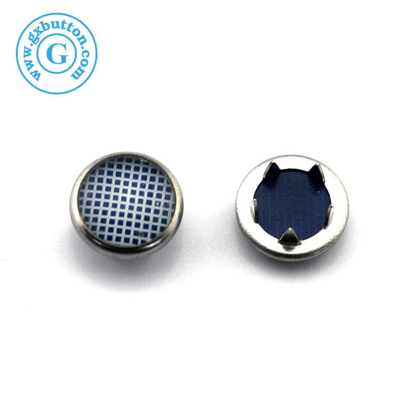 Hot Sale fashion metal cap prong ring snap button