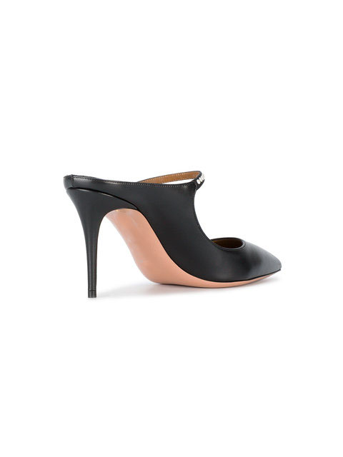 pumps heel daily wear high leather genuine Ladies women shoes party shoe dress qxwzcT8IR