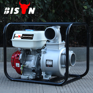 BISON CHINA TaiZhou 4 Inch Fish Farm Gasoline Water Pump for Sale