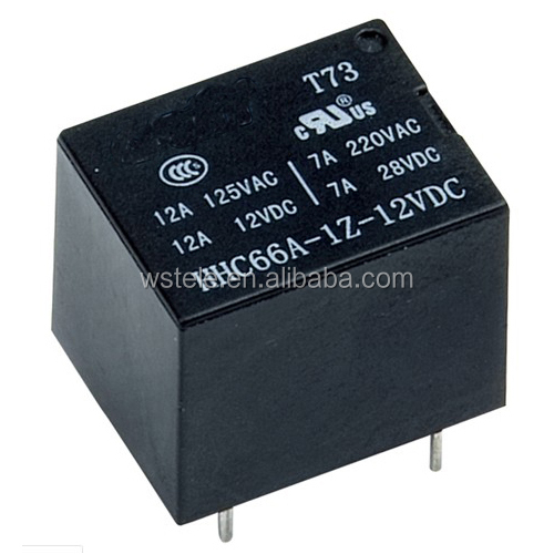 Mini PCB power relay miniature relay jqc-3f T73