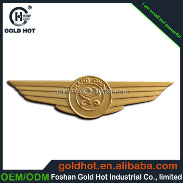 zinc alloy copper bronze plated color word projected name plate trademark label sticker sheet for car