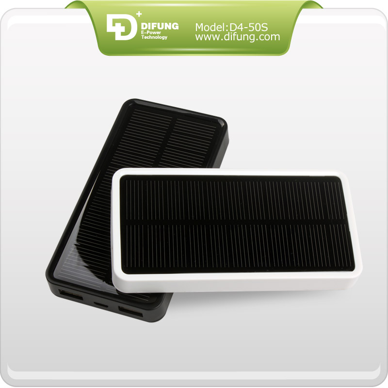 Portable Solar Phone Charger,Power Bank Solar Phone Charger,5000mAh Solar Phone Charger