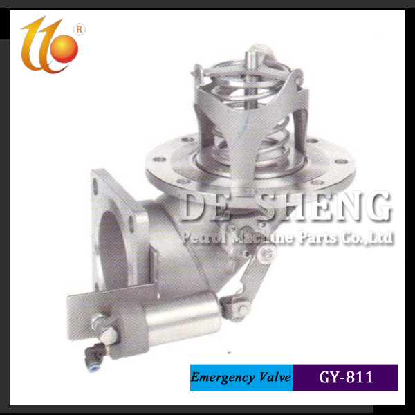 Factory supplier New type Stainless Steel emergency Valve for oil tank