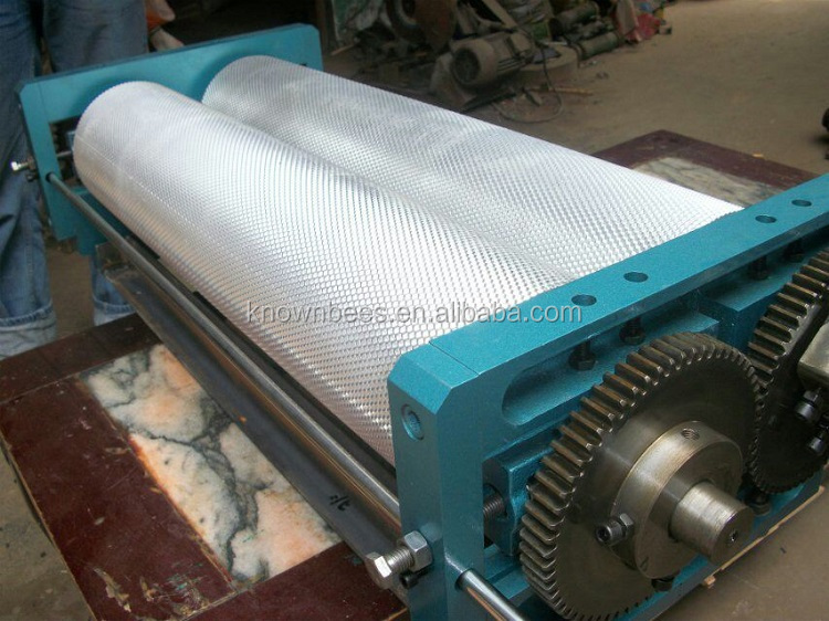 Beekeeping Roller 250mm manual beewax foundation machine