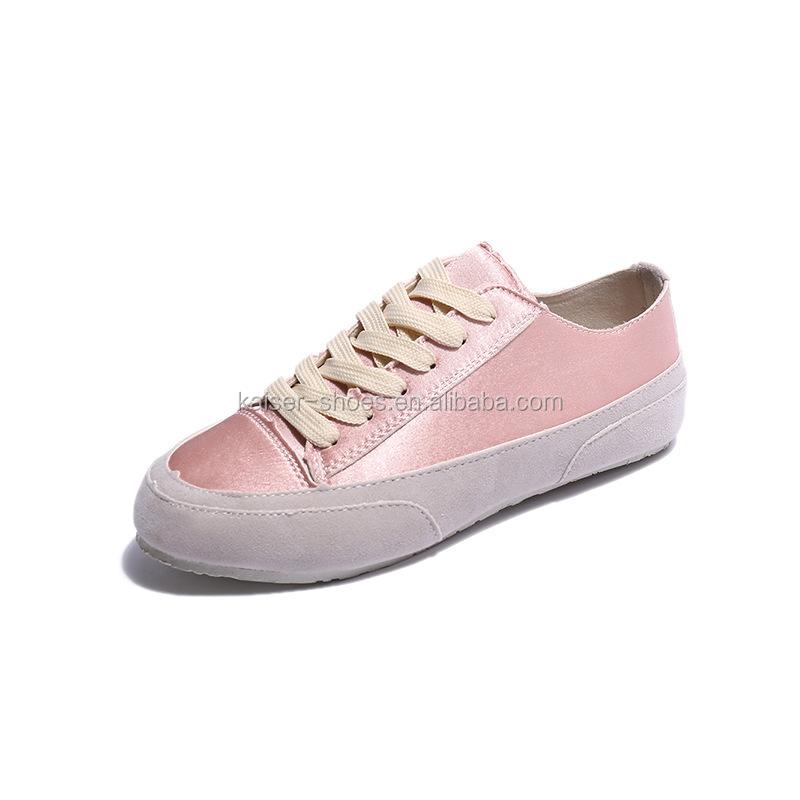 b244e77543 Estilo español dama zapatos deportivos de alta calidad zapatos de lona de  las mujeres zapatos