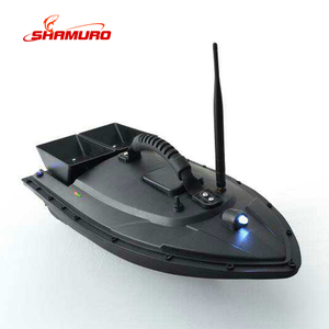 New product ABS Remote controlled Nest Ship RC fishing Bait Boat With LED Lights