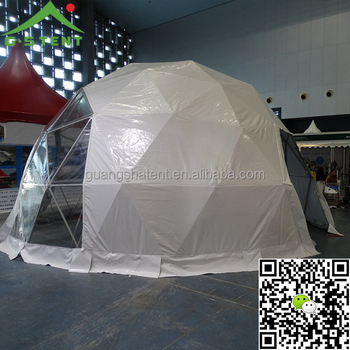 GSD-8 8m diameter clear plastic geodesic dome party tent