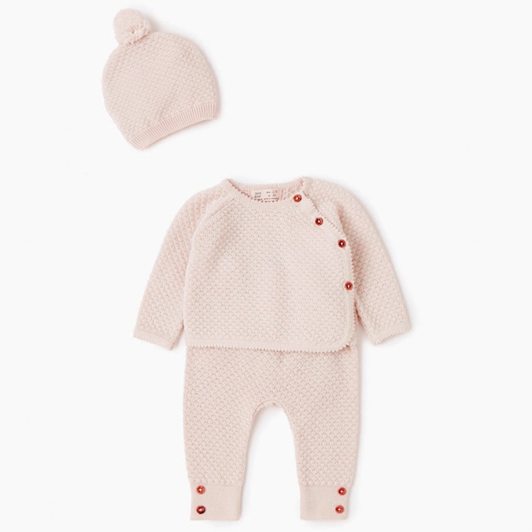 100% Cotton Knitted Infant Baby Clothing Sets Wholesale ...