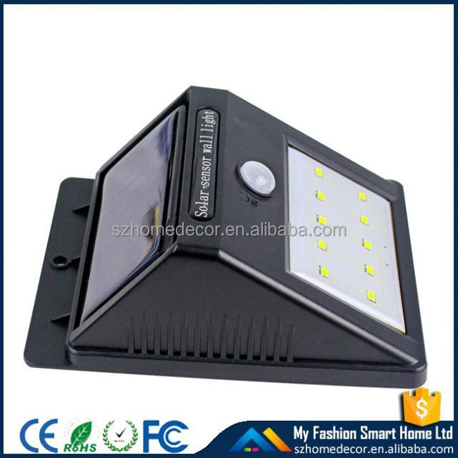 solar wall light remote control SL-80/ led solar powered flashing light / White Yellow Green Red Colors Solar Garden Light