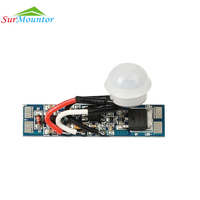Mini Infrared PIR Motion Sensor Micro Touch Switch For Led Profile