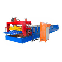 High Quality Steel Step tile making machinery/glazed tile cold rolled forming machine