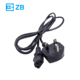 AC Power cords travel extension cord for USA/UK/Europe