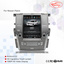 Auto <span class=keywords><strong>GPS</strong></span> Multimedia <span class=keywords><strong>Systeem</strong></span> voor Nissan Patrol 2012 + Tesla Auto <span class=keywords><strong>GPS</strong></span> Verticale Screen HD 1080 P Car Audio Radio RM AM RDS Audio Video