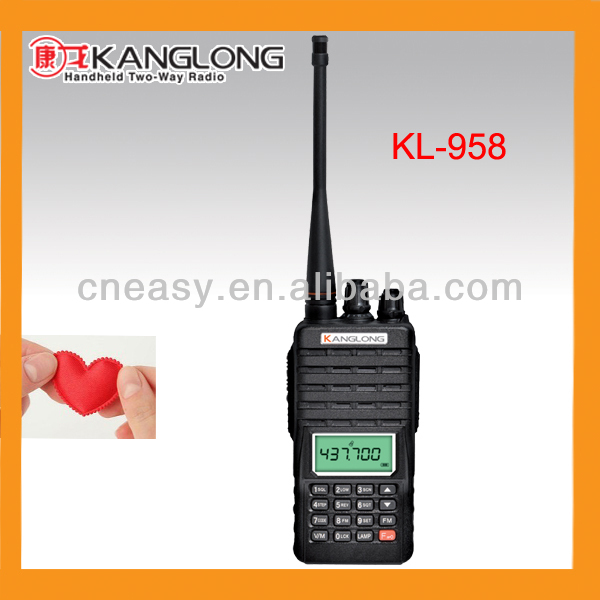 UHF/VHF high quality facory price professional radio handset