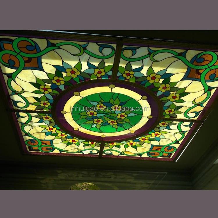 Prezzo di fabbrica lucernario tetto in vetro colorato per for Lucernario prezzo