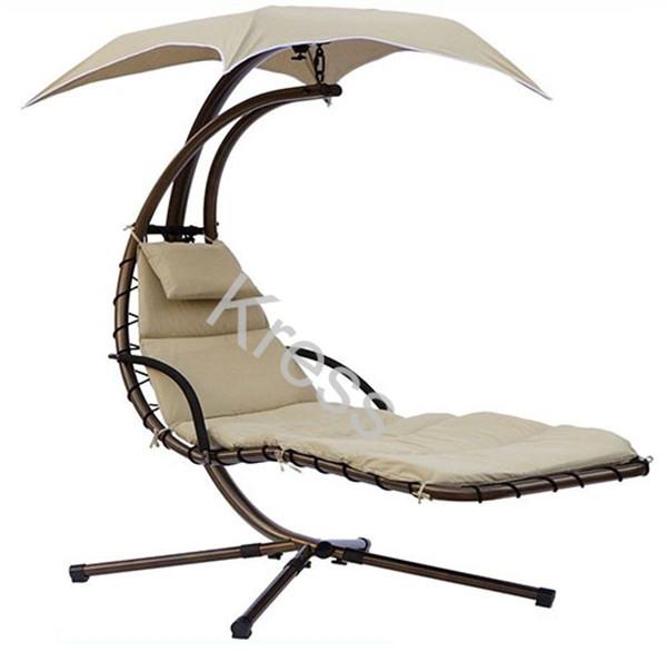 Patio Free Standing Steel Frame Swing Chair Hammock - Buy ...