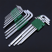 Dongguan Ruixin professional supplier 9pcs custom hex key 8mm ball point hex key wrench