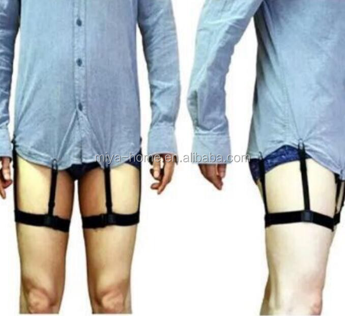 Wholesale Fixing Elastic Shirt Stays Garters With Non Slip