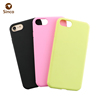 Wholesale colorful matte fingerprint custom rubber tpu mobile phone case for iPhone 7