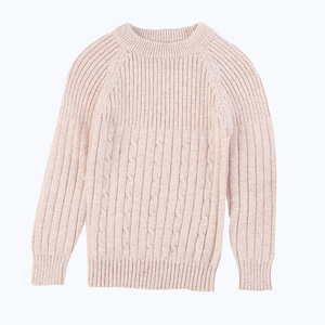 OEM kids woolen cashmere wholesale children's boutique clothing candy colors baby knitwear cable baby sweater for children