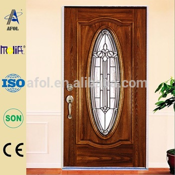 Zhejiang AFOL Entry Door Glass Inserts, Oval Glass Inserts Door ,decorative  Glass Door Inserts