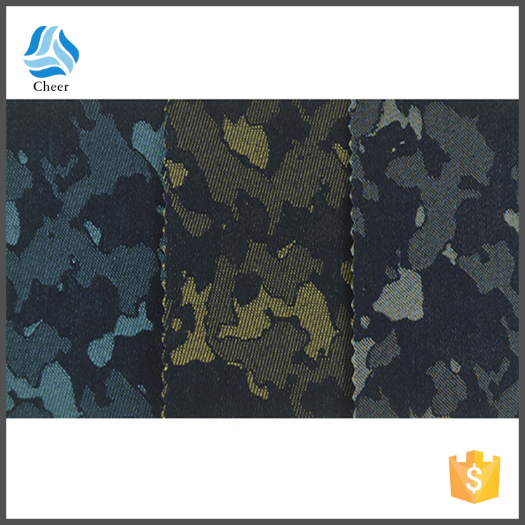 tc colored camouflage denim fabric factory