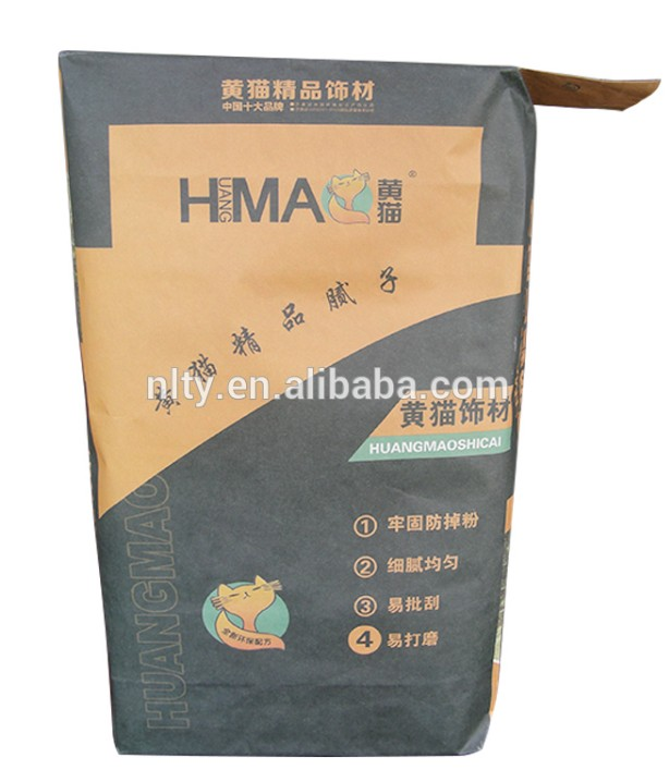 Manufactures Brown Kraft Paper Valve Bag chemical powder