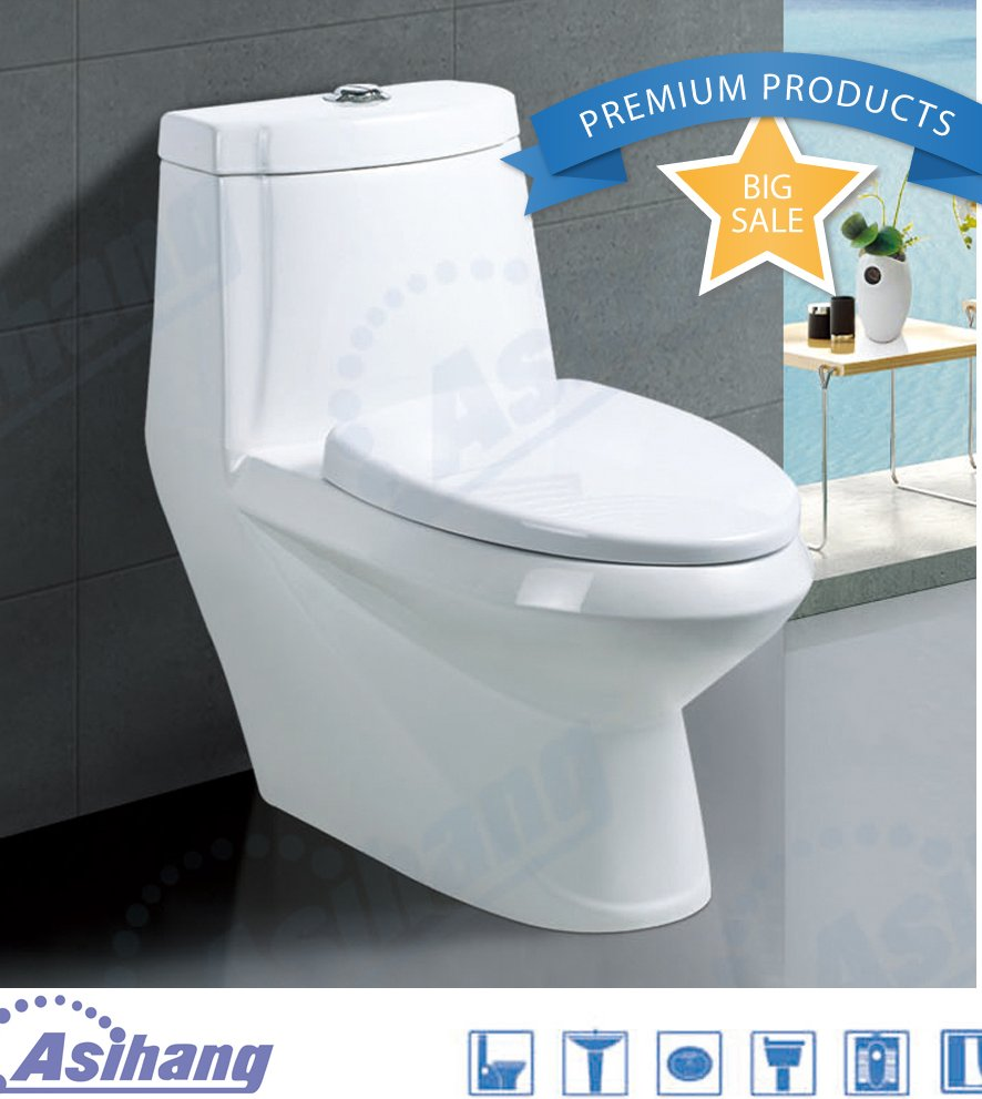 AS2008 bathroom ceramic toilet sanitary ware