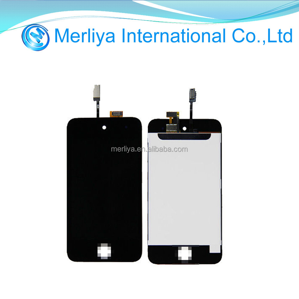 LCD Touch Screen Digitizer Panel Front Glass Black For iPod Touch 4 4th Gen 4G