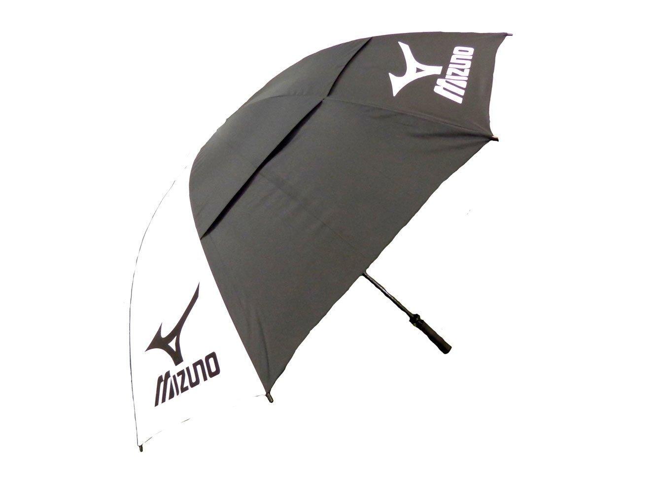 Mizuno (MIZD9) Double Canopy Umbrella Black/White