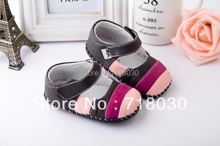 HOT Soft bottom baby prewalker shoes first walkers baby leather shoes inner size 11 5cm 12