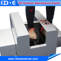 laser scanning without damage to body 3d foot scanner high precision