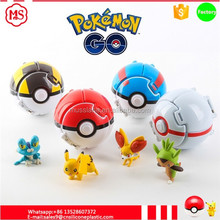 Original Factory 7CM Plastic Pop-Up Pokemon Ball Pokeball poke ball