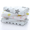 super soft muslin swaddle 100% cotton baby blanket warps